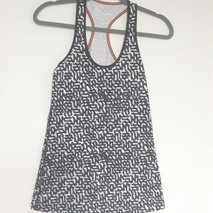 Lululemon Workout Abstract  Racerback Tank Top